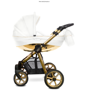 BABY ACTIVE MOMMY GLOSSY WHITE-gold