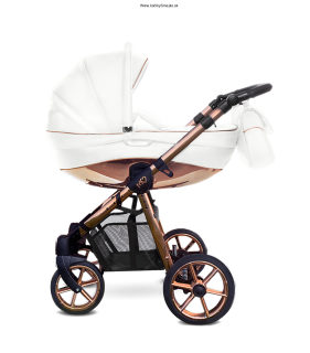 BABY ACTIVE MOMMY GLOSSY WHITE-gold rose