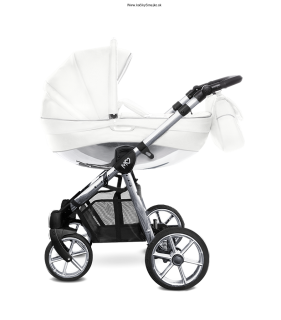 BABY ACTIVE MOMMY GLOSSY WHITE-silver